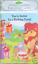 8pk You're Invited Child's Birthday Party Invitation Cards Designer Greetings #1