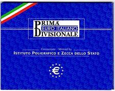 Italie, Coffret de 1 Cent à 2 Euro Italie, 2002 (ECO)