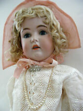 "BEAUTIFUL! GERMAN BISQUE ORIGINAL KESTNER DOLL 171 31"" 1890-1900"