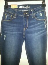 Old Navy Rock Star Distressed Jeans, Women's size 0 Reg, NWT