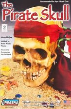 2006 Discontinued Lindberg Model kit full size Pirate's Skull for Halloween new