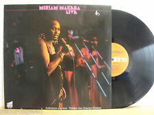 ★★ LP - MIRIAM MAKEBA - LIVE - PLÄNE 88200 GER - Record in Near Mint