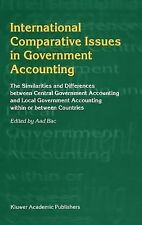 International Comparative Issues in Government Accounting : The Similarities...