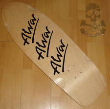 "ALVA SKATEBOARDS - 1979 Tri logo 10"" x 30"" Skateboard Deck - Old School ReIssue"