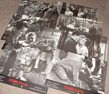 Strangers On A Train Alfred Hitchcock - Set of 8 Lobby Cards Farley Granger 1951