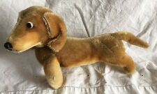 Vintage Steiff Dachshund Mohair Toy Dog HEXIE