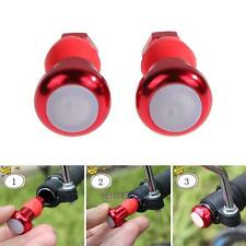 1 Pair Bicycle Bike Turn Signal LED Safety Handlebar Blinker Indicator Light Red