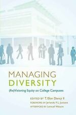 Managing Diversity: (Re)Visioning Equity on College Campuses- Foreword by Jerlan