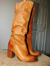 Dune genuine buttersoft tan leather boots uk 5 eur 38