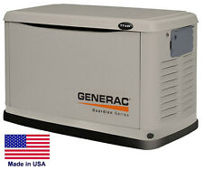 STANDBY GENERATOR - Residential - 11 kW - NG & LP - Steel Enclosure - No TS