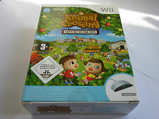 Animal Crossing Lets Go To The City with Wii SPEAK NINTENDO Wii brand new sealed