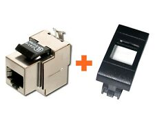 PRESA RETE CAT.6 STP COMPATIBILE BTICINO LIVING INTERNATIONAL RJ45 SMALL