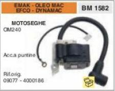 09077 BOBINA ACC. A PUNTINE MOTOSEGA EMAK OLEO MAC EFCO DYNAMAC OM240 OM 240