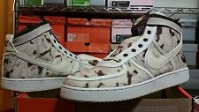 New Nike Vandal Supreme s 13 High Premium Chocolate White Birch Straw 307815 221