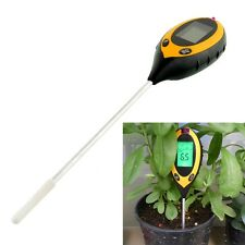 Professional 4 In1 LCD Temperature Sunlight Moisture PH Garden Soil Tester Meter