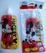 Mickey Mouse Foldable Water Bottle / sports bottle x 2