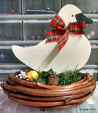 AVON HOLIDAY GOOSE THANKSGIVING CHRISTMAS COUNTRY CENTERPIECE NEW IN BOX