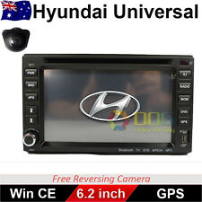 "6.2"" Double 2 DIN Car DVD Player Radio Stereo GPS BT CD for Hyundai Universal"