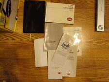 1991 AUDI 200 200 QUATTRO OWNERS MANUAL W/CASE and bonuses owner's manual