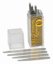 40 Metal Collar Stays in a plastic box - 5 sizes