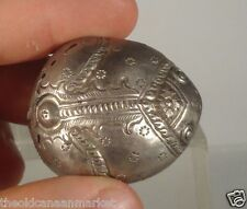 Antique Silver Betel Nut Box Container Frog Shaped South East Asian Vietnam