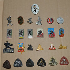 Chimney sweep sweepers vintage pin badge lot 25 different Rare