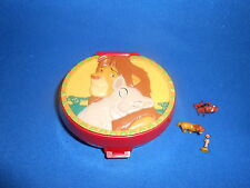 Polly Pocket Bluebird (c) Disney 1989 Mini Dose 3 Figuren Simba Timon Pumbaa