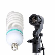 Studio Continuous Light Single Head Holder With E27 Tricolor Bulb 115W 220V Kit
