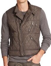 700$ Ralph Lauren Black Label Racing Quilted Vest Size Large