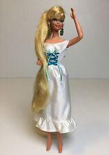 Mattel Hollywood Hair Barbie Long Silky Blonde Hair Star Earrings
