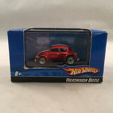 Hot Wheels 1:87 Scale Red Volkswagen Beetle with Box & Display Case N0236