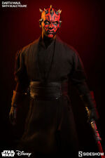 DARTH MAUL Sideshow/Hot Toys 1/6 Figure (Duel on Naboo) ray park UK IN STOCK NOW