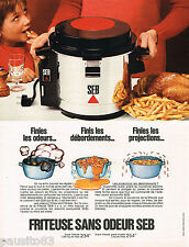 PUBLICITE ADVERTISING 055  1973   SEB   friteuse