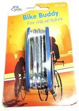 Multifunzionale Acciaio Bike Buddy Per Biciclette Cycle Blocco Attrezzo