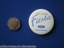 Ford Cars  pin badge   ' The New Fiesta  '   1990s