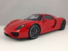 Porsche 918 Spyder Red 2015 Closed Body & Closed  Roof Spark 18S169 1/18 New