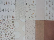 10 x Tales From Willson Wood A5 Papers Set 2 For Cardmaking & Scrapbooking