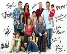 Modern Family Cast #1  8 x 10 Autograph Reprint Ed O'Neill Sofía Vergara +8
