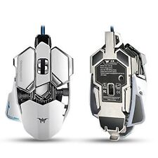 Combaterwing 4800 DPI 10 Buttons Breathing LED Optical USB Wired Gaming Mouse