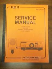 Pathcom Pace Service Manual~BI-3000 Mobile Transceiver~CB Radio