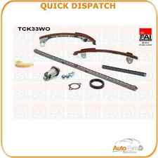 TIMING CHAIN KIT FOR  TOYOTA AVENSIS 2 10/00-02/03 2456 TCK33WO