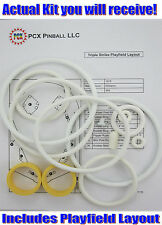1975 Williams Triple Strike Pinball Machine Rubber Ring Kit