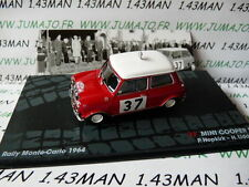 voiture 1/43 IXO Altaya Rallye Italie : MINI COOPER S Monte Carlo 1964 Hopkirk