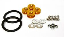 Gold Bumper Quick Release Kit - JDM Drift Skyline 200SX BMW 180sx Silvia