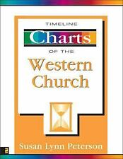 NEW - Timeline Charts of the Western Church by Peterson, Susan Lynn