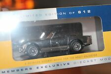 VANGUARDS * TRIUMPH TR4 OPEN TOP * 1:43 * OVP * CHROME PLATED