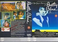 Betty Blue, Beatrix Dalle VHS Video Promo Sample Sleeve/Cover #8896