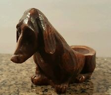 Vintage Comoy's of London Dachshund Weiner Dog Pipe Holder Made in Italy
