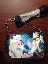 Disney Alice In Wonderland Horesfly Small Crossbody Bag Tote Purse Chain Strap