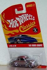 2005 Hot Wheels Classics Series 2  1940 Ford Coupe Color: CHROME